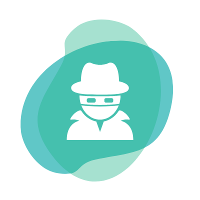 eliminate fraud icon
