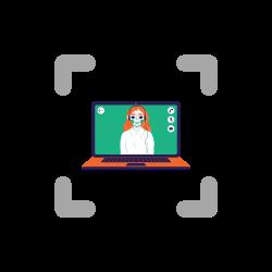 video recording with biometrics