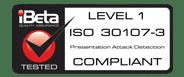 COMPLIANT ISO 30107-3 - LEVEL 1 - High Rez