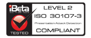 COMPLIANT ISO 30107-3 - LEVEL 2 - High Rez