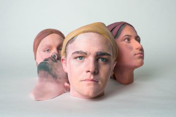 Passive liveness masks testing